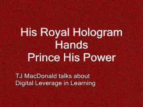 His Royal Hologram Hands Power to Prince Charles