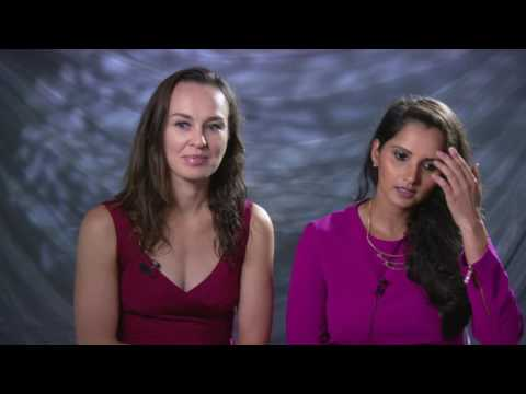 Martina Hingis & Sania Mirza | 2016 WTA Finals Pre-Tournament Interview