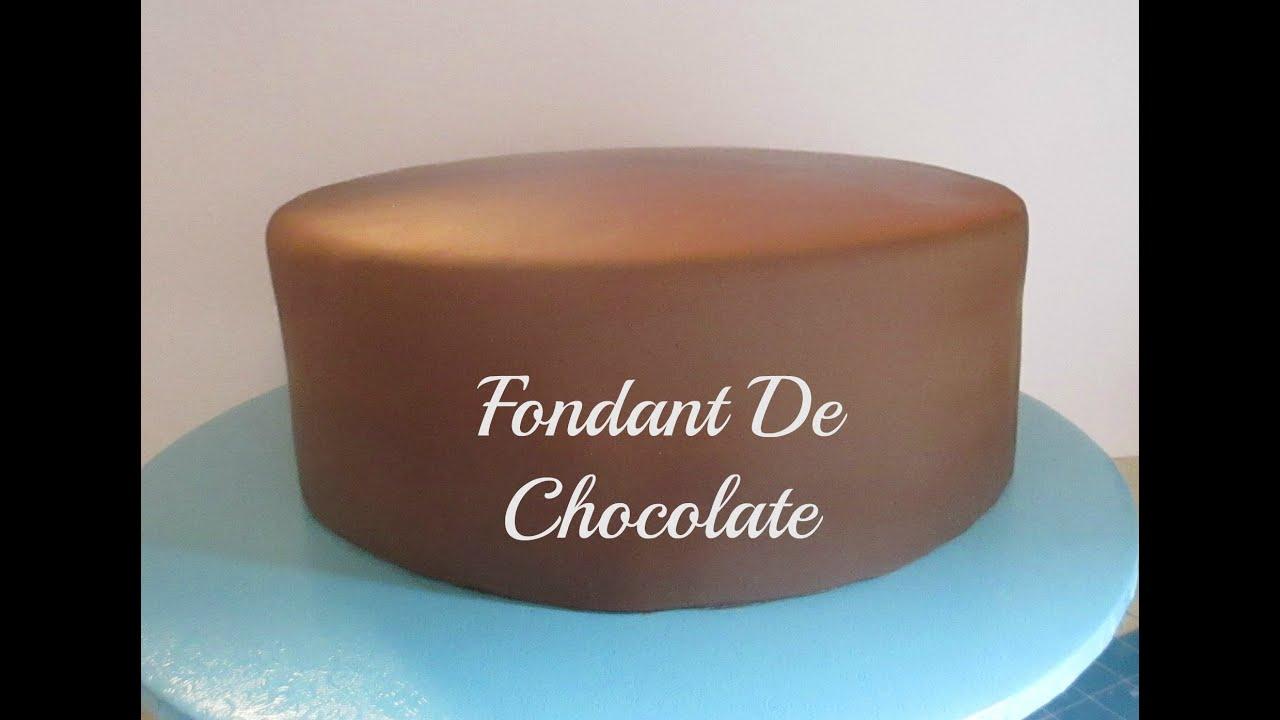 Cómo Hacer Fondant De Chocolate Y Cubrir El Pastel Muy Fácil Madelin S Cakes Youtube