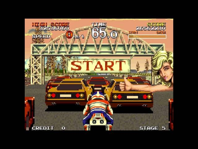 #YesterPlay: Racing Hero (Arcade, Sega, 1990)