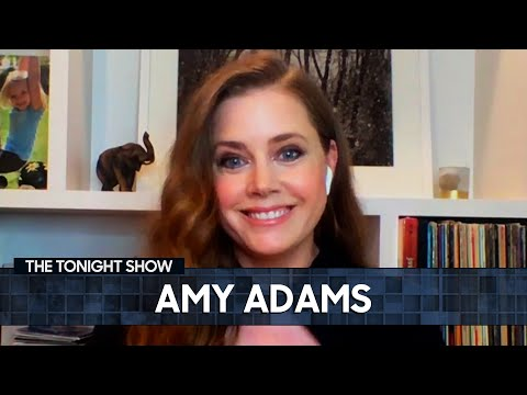 Amy Adams on Filming the Enchanted Sequel with Maya Rudolph   The Tonight Show Starring Jimmy Fallon