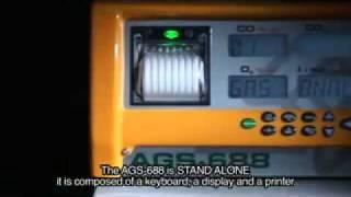 5 Gas Exhaust Gas Analyser BrainBee 688