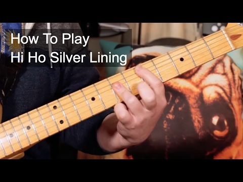 'Hi Ho Silver Lining' Jeff Beck Guitar Lesson