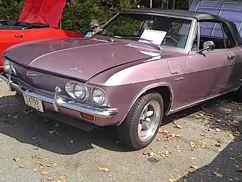 Bay State Corvair Clarks Late Summer Show 9 16 17