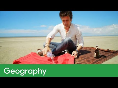 How can you cool a drink using the sun? | Geography – Wild Weather with Richard Hammond