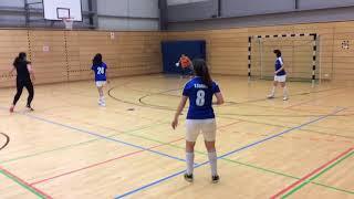 Futsal Social Club Luxembourg 20/01/2018 - EIB-W VS Amazon-W