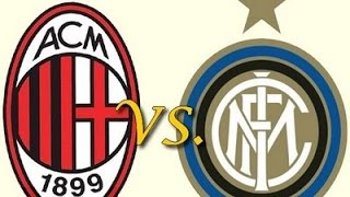 Ac Milan Vs Inter Milan All Match Highlights/Goals 8/12/15