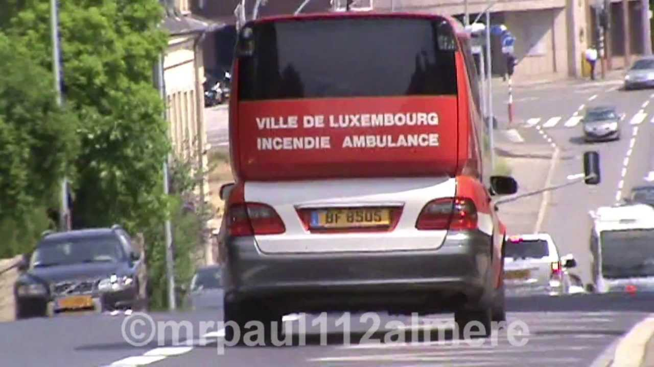 Collectie ambulance mercedes benz e klasse for Mercedes benz luxembourg