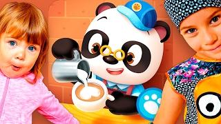 Доктор Панда и его Кафе - Развивающий мультик игра для детей Dr. Panda Cafe