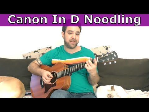 Lesson: How to Use Canon in D For EPIC Fingerstyle Improvisation (Beginners Too!) - Guitar Tutorial