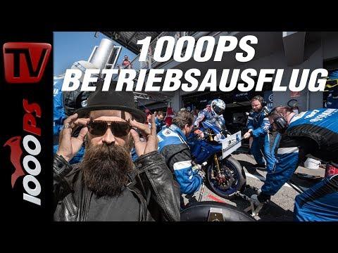 1000PS Betriebsausflug - Irre Racing Technik beim Langstreckenrennen - YART 8h Endurance