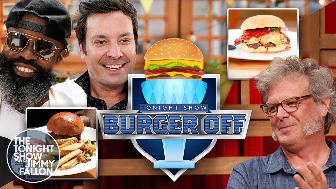 First Annual Tonight Show Burger-Off with George Motz | The