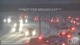 01/11/2019 St. Louis, Missouri Major Winter Storm 3 Car Pileup, Abandoning Cars, Crawling Highways