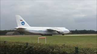 Take off Antonov 124 EHGR Gilze Rijen 2014 09 09