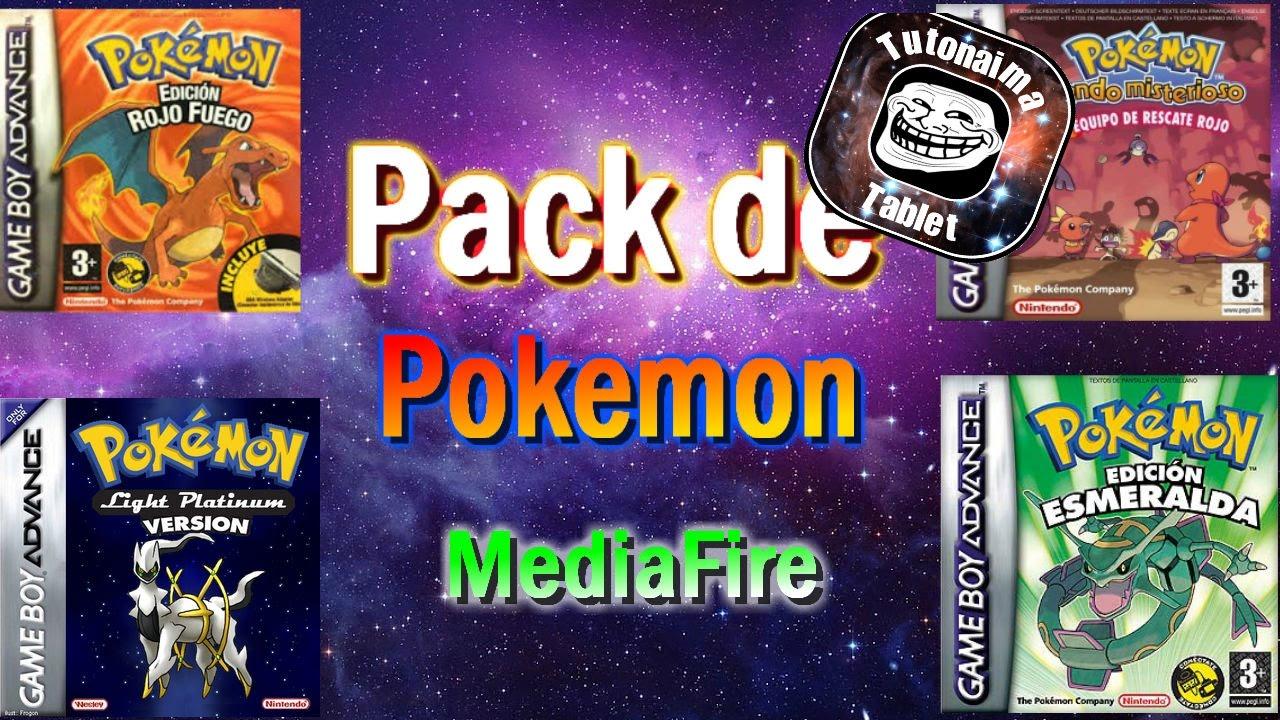 Pack De Juegos De Pokemon En Espanol Para Gba Android Mediafire
