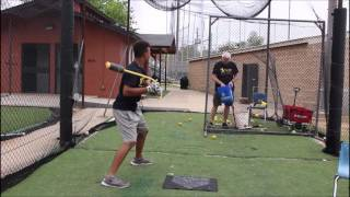 Koby with Rope Bat One Hand Drills