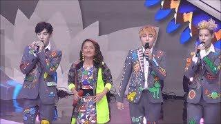 Kolaborasi dengan Boyband Korea, Sibad Nyanyikan Lagi Syantik di Dangdut Awards 2018