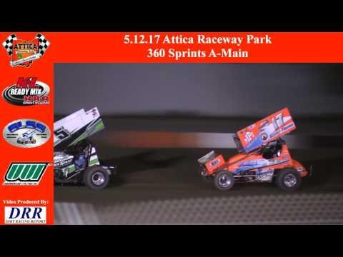 5.12.17 Attica Raceway Park 360 Sprints A-Main