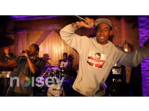 """Pusha T feat. Tyler the Creator - """"Trouble On My Mind"""" (Live)"""