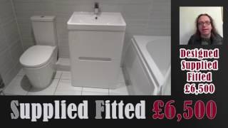 Executive Designer Bathroom £6500