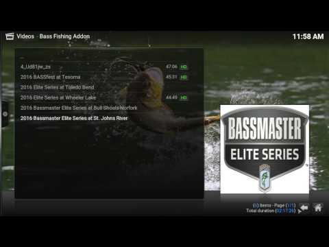 Kodi Bassfishing Video Addon