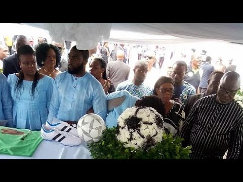 Nigeria bids farewell to its football legend 'Big Boss' Keshi