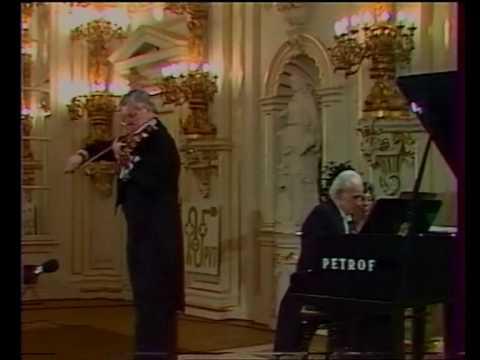 "Smetana "" Z domoviny""   part 2 Josef Suk & Jan Panenka"