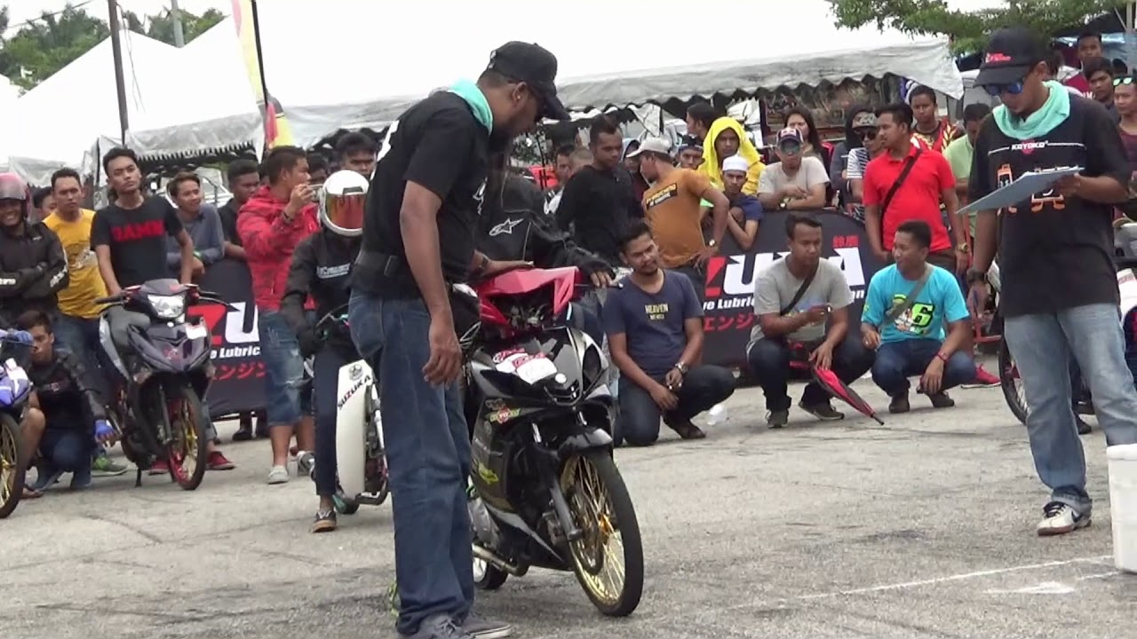 PART 1 150cc Sprint Test Drag Racing Kubang Menerong