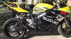 2004 Suzuki GSXR 750 Yoshimura RS-3 to M4 GP w/05 1000 Headers