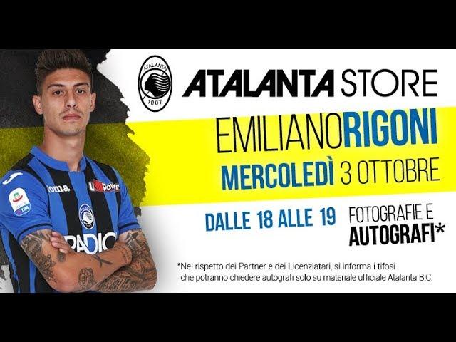 Atalanta Store: special guest Emiliano Rigoni - YouTube