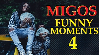 Migos FUNNY MOMENTS Part 4 (BEST COMPILATION)
