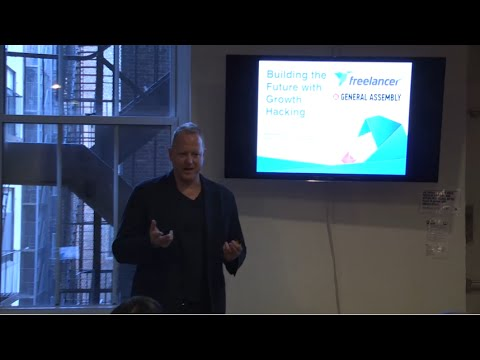 Building the Future with Growth Hacking, with Nik Badminton from Freelancer.com