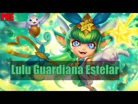 Nuevo Skin Lulu Guardiana Estelar Star Guardian Lulu