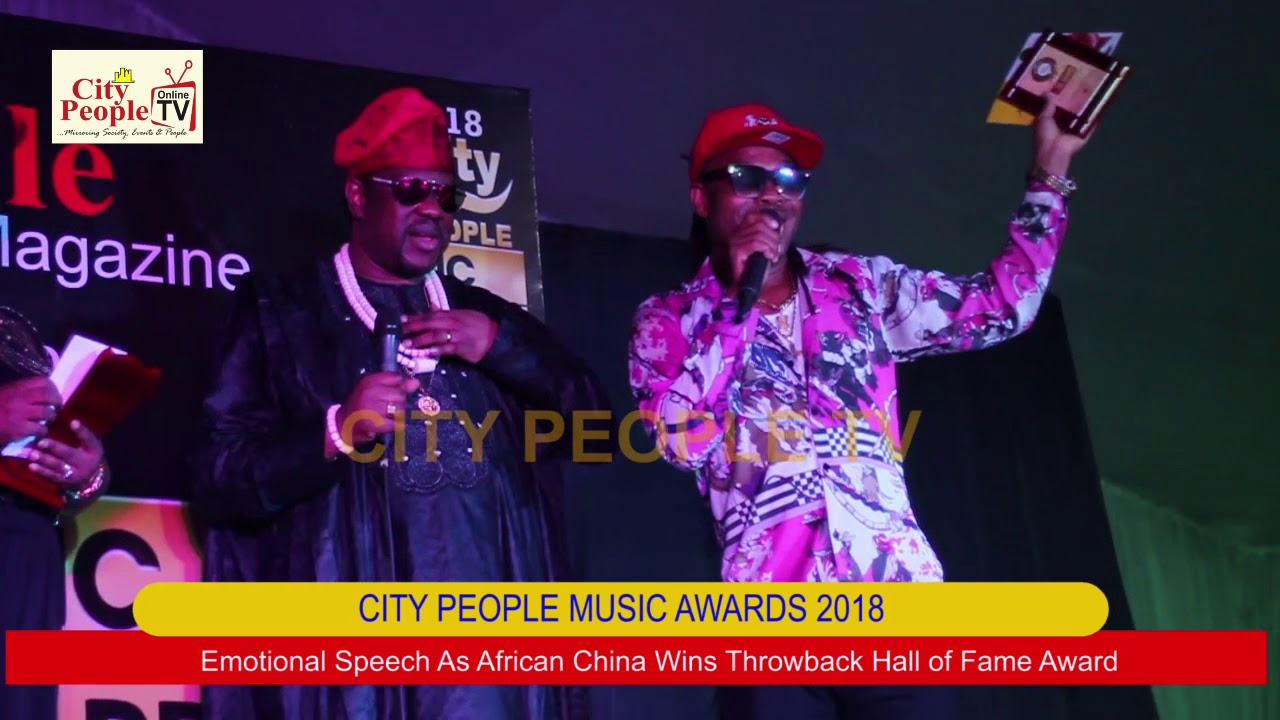 Download EMOTIONAL SPEECH AS AFRICAN CHINA WINS THROWBACK HALL OF FAME AWARD @ CITY PEOPLE MUSIC AWARDS 2018