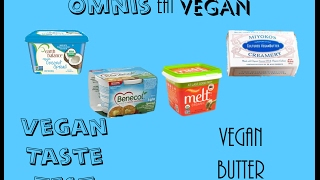 Vegan Taste Test - Vegan Butter