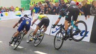 Top 10 Cycling Fails Moments