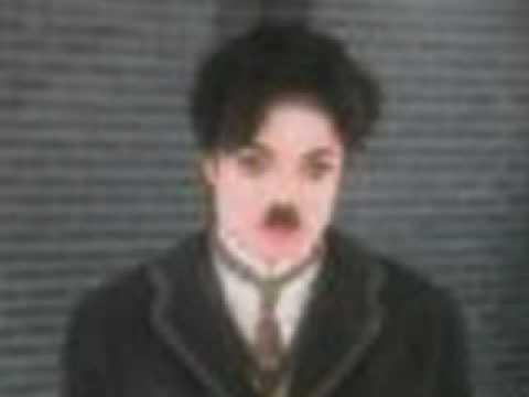 Michael Jackson As Charlie Chaplin - Smile