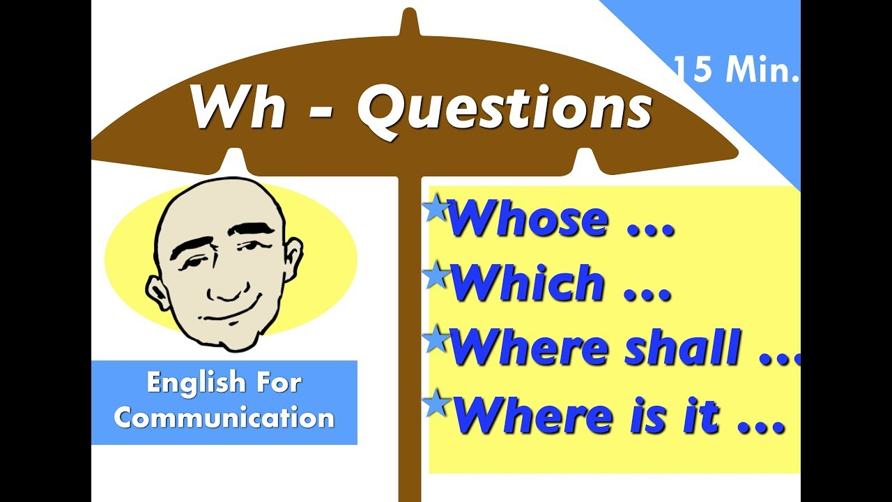 hight resolution of Wh - Questions: whose