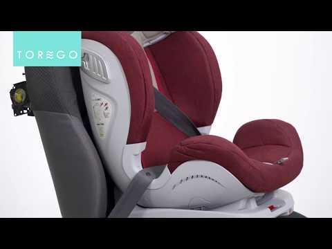 TOREGO DRIVE ISOFIX    Установка детского автокресла в автомобиль