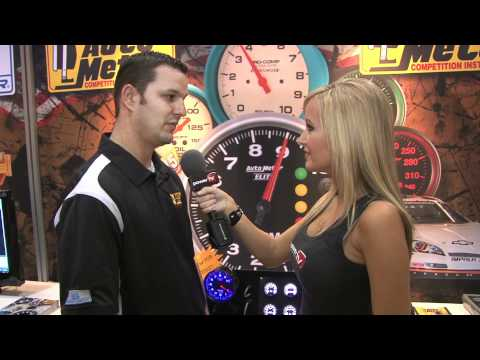 Autometer's improved gauge instrumentation for NASCAR at PRI 2011