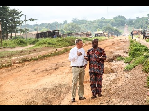 THIS IS AMERICA VISITS BENIN, Part I: Infrastructure & The Backbone Project