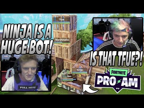 Tfue Calls Ninja A BOT & Then They Go AT EACH OTHER In The Most INTENSE Game Of The Fortnite Pro-Am!