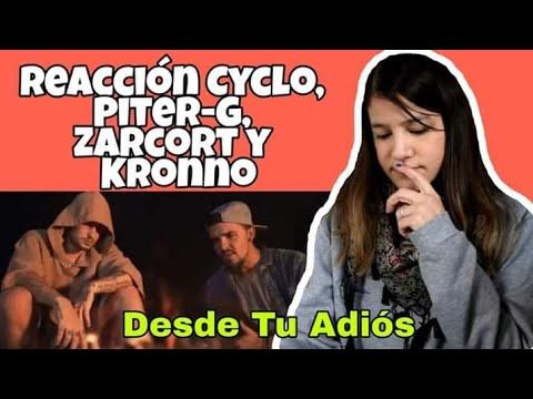 REACCIÓN CYCLO,PITER-G,ZARCORT Y KRONNO - Desde Tu Adiós   Natuchys