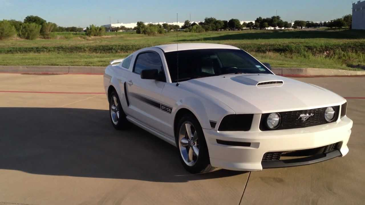 2007 mustang gt cs walk around