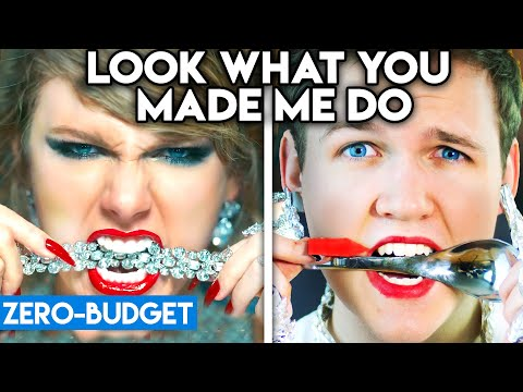 TAYLOR SWIFT WITH ZERO BUDGET! (Look What You Made Me Do PARODY)