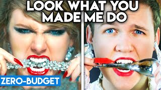 Download TAYLOR SWIFT WITH ZERO BUDGET! (Look What You Made Me Do PARODY) Mp3 and Videos