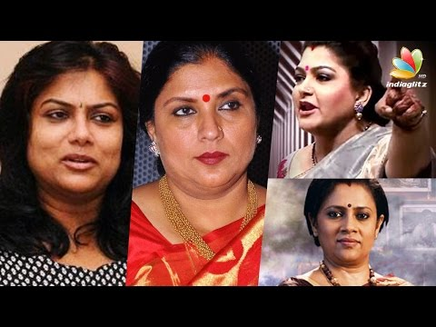 Kushboo behaves lika a rowdy on reality show says Actress Ranjini, Sri Priya | Hot Tamil Cinema News