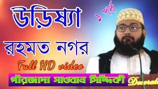Wonderful Bangla Waz    Pirzada Sowban Siddique    Odisa Rahmat Nagar