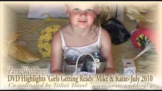 zante weddings DVD highlights girls gettng ready katie mike july 2010 wmv
