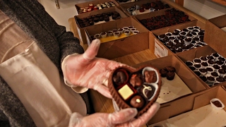 How We Make Our Chocolate Heart Boxes